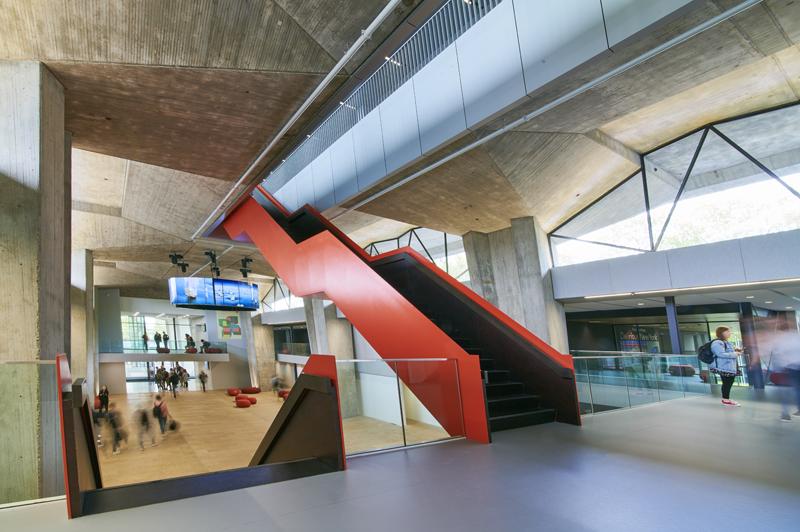 Interior del edificio Atlas.